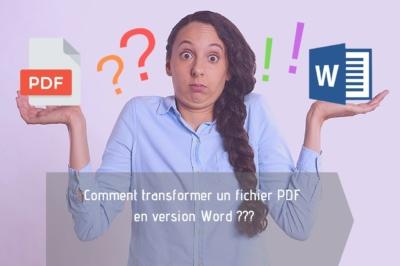 Komone - Comment transformer un fichier PDF en version Word
